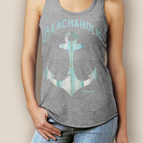 Beachaholic Signature Racerback  (More Color Choices)