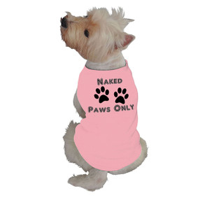 NautiPet Tank-Naked Paws Only