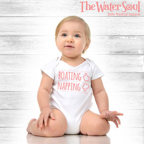 Baby Boating Napping  - Girl Bodysuit