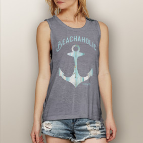 Beachaholic -  Muscle Tank (more color choices)