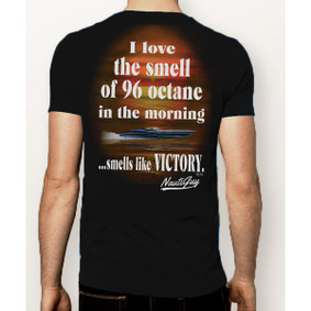 Mens Boating T-Shirt - Smells Like Victory T-Shirt