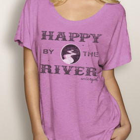 WaterGirl Boating Dolman - Happy By The River ( More Color Choices)