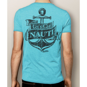 Men's Boating T-Shirt- Let's Get Nauti (More Color Choices)