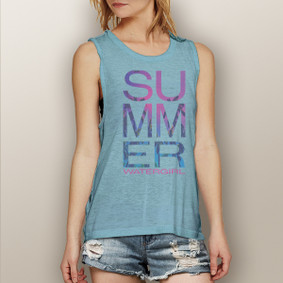 Watergirl Summer -  Muscle Tank (more color choices)