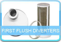First Flush Diverters