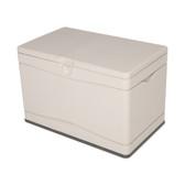 "80-Gallon Resin Deck Box 40"" L x 24"" W x 26"" H"