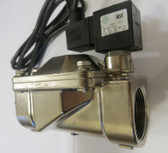 BRASS SOLENOID VALVE FOR SANITRON S37C UV UNIT