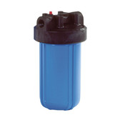 "4.5"" x 10"" Watts Blue Whole House Water Filter Housing 1"" Inlet/Outlet with pressure relief"