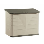 Olive Resin Outdoor Storage Shed