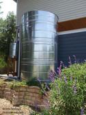 Jumbo - Round Galvanized Steel Water Storage Tank