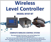 Aquatel M107-BT Wireless Level Controller