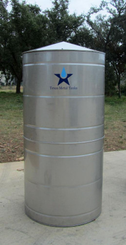 Medium - Round Stainless Steel Water Storage Tank & Medium - Round Stainless Steel Water Storage Tank - Rain Harvesting ...