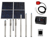 Raintech Solar Submersible Water Pump with Control Unit and Level Switch