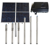 Raintech Solar Submersible Water Pump for use with Backup Generator