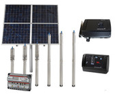Raintech Solar Submersible Water Pump for use with Backup Batteries