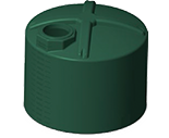 1600 Gallon Rotoplas Water Storage Tank