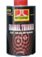 Motospray Enamel Thinner 4ltr (MSET-4L)
