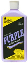 California Custom Purple Metal Polish (PMP-355ml)