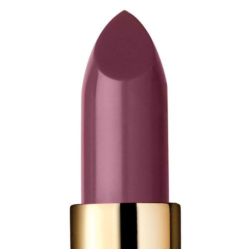 Closeup of Serendipity, a dusty pink lipstick.