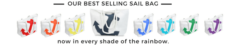 Sail Bag, Recycled Sailcloth Tote Bag