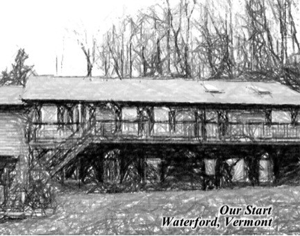 Waterford, Vermont - the home of the original New England Trading Company