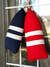 Navy with 2 White Stripes, Red with 2 White Stripes