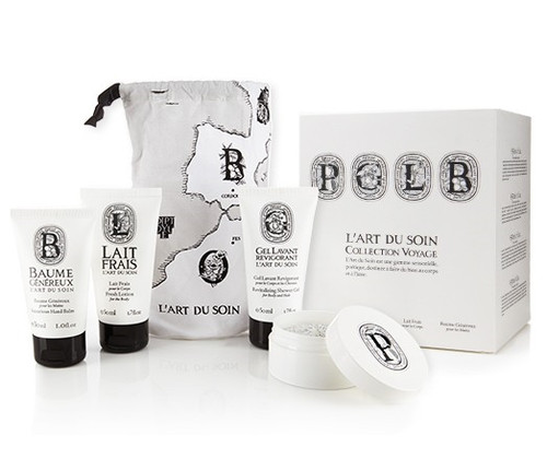 Diptyque Art of Body Care Travel Kit