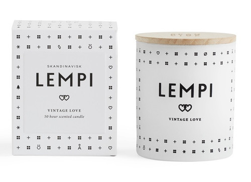 Skandinavisk LEMPI (LOVE) 190g Candle