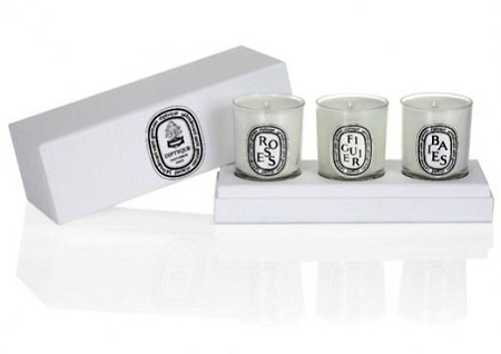 Diptyque 3 Votive Candle Gift Set