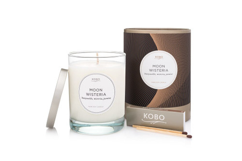 KOBO Filament - MOON WISTERIA - Candle