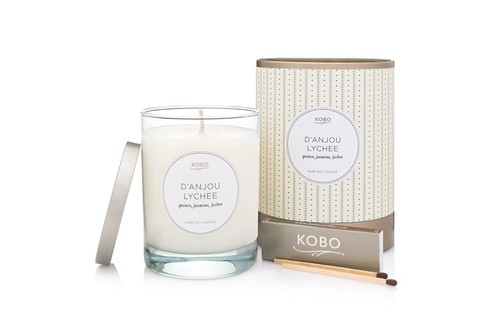 KOBO Coterie - D'ANJOU LYCHEE - Candle