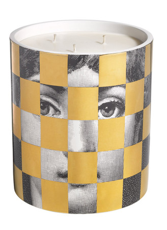 Fornasetti Scacco Large Candle