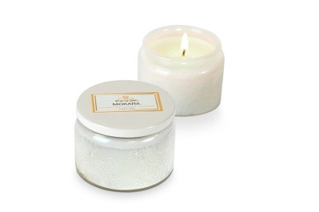 Voluspa Mokara Small Embossed Jar Candle