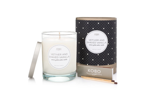 KOBO Coterie - VETIVER AND SHAVED VANILLA - Candle