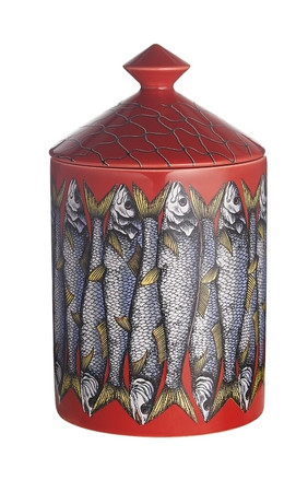 Fornasetti SARDINE ROSSO Candle