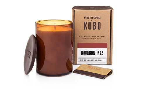 KOBO Woodblock - Bourbon 1792 - Candle