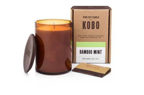 KOBO Woodblock - Bamboo Mint - Candle