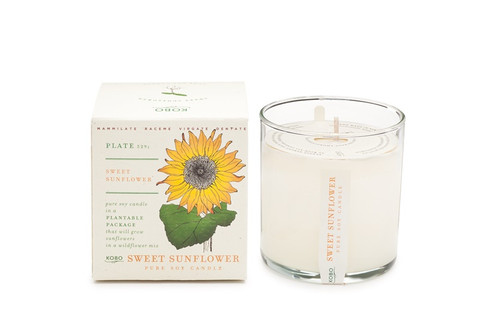 Kobo SEEDS - Sweet Sunflower - Candle