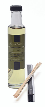 Lafco Diffuser Refill- Sage and Walnut (Library)