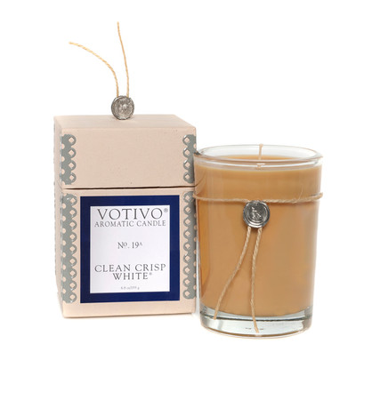 Votivo Clean Crisp White Candle-8.1oz