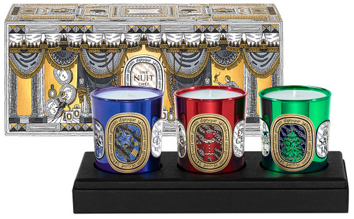 Diptyque 3 Votive Holiday Candle Gift Set