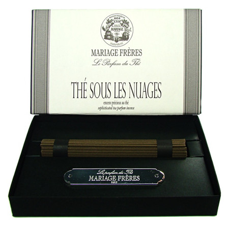 TEA UNDER THE NUAGES Precious tea scented incense  50 sticks