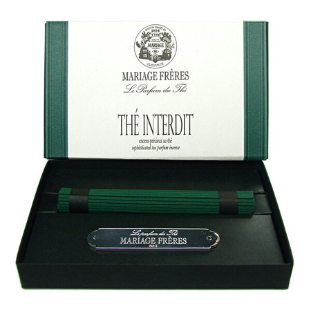 INTERDIT TEA Precious tea scented incense  50 sticks