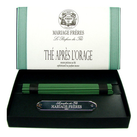 TEA AFTER THE ORAGE Precious tea scented incense  50 sticks
