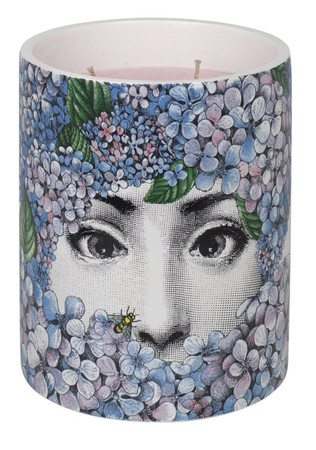 Fornasetti Ortensia Medium Candle