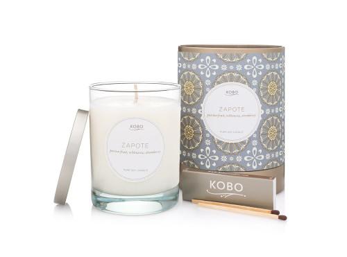 KOBO Motif - ZAPOTE - Candle