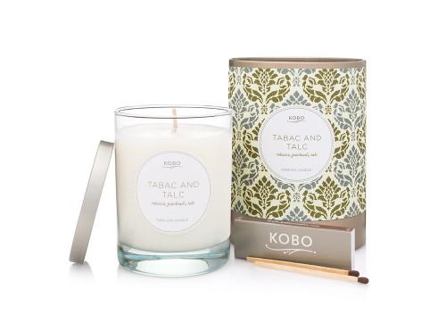 KOBO Motif - TABAC & TALC - Candle