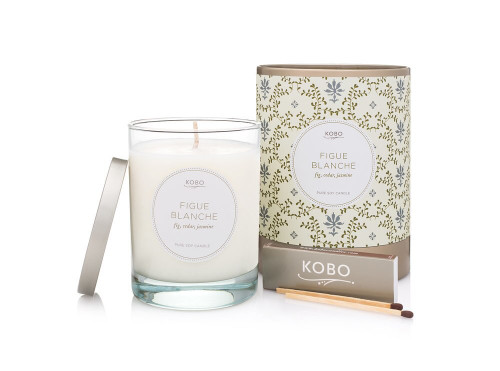 KOBO Motif - FIGUE BLANCHE - Candle