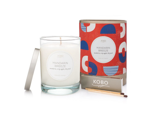 KOBO Natural Math - MANDARIN BREEZE - Candle