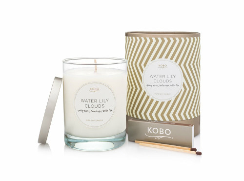 KOBO Aurelia - WATER LILY CLOUDS - Candle